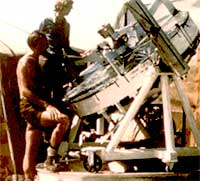 photo, Dr. John D.G. Rather's solar eclipse expedition to Kenya, 1973